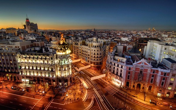Madrid-City-at-Night
