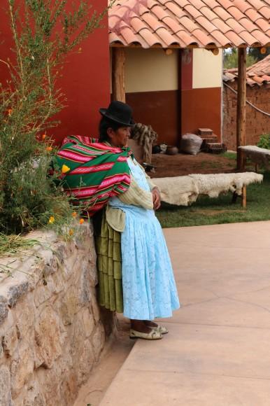 Inca decendant