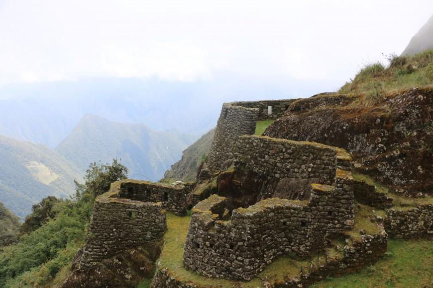 Inca ruins on trek