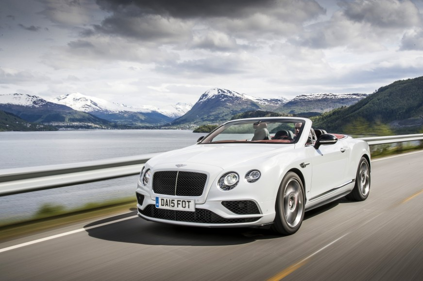 Continental GT V8 S Convertible Ice