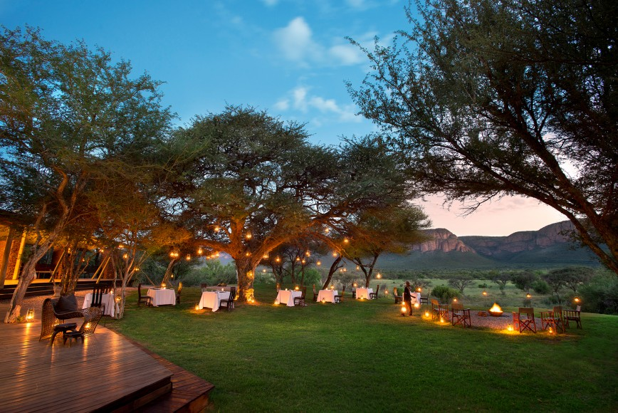 Marataba Safari Lodge Dining