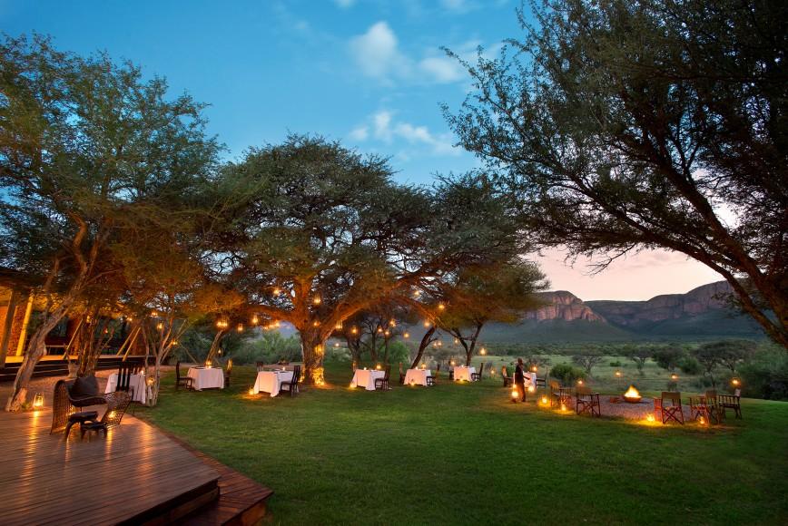 Marataba Safari Lodge Dining
