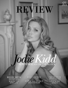 Jodie Kidd Cover