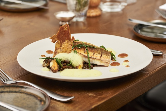 The Half Moon Kirdford West Sussex Fish Dish