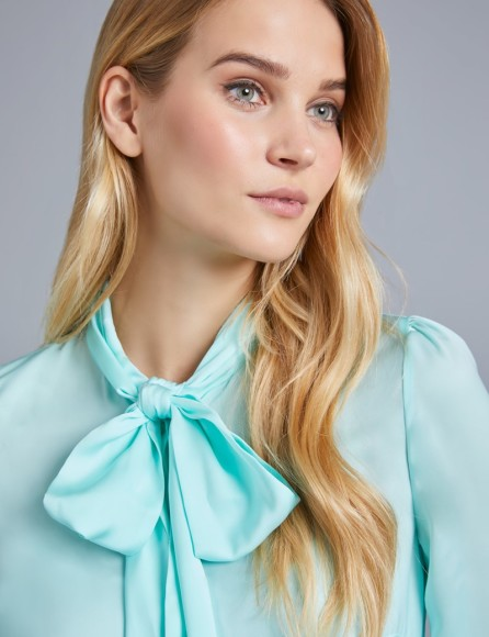womens-light-green-plain-fitted-satin-blouse-pussy-bow-XSPZT007-B31-119545-800px-1040px