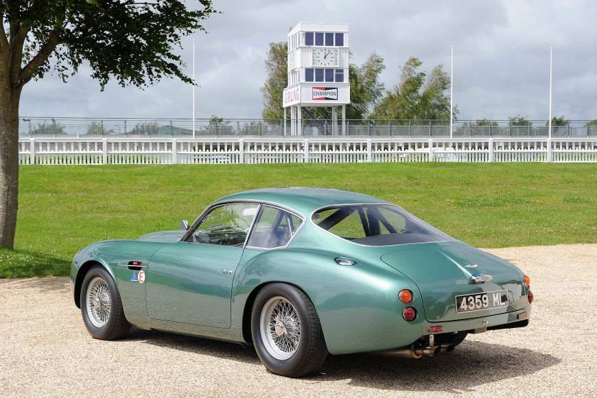 Aston Martin DB4 GT Zagato - Credit Tim Scott