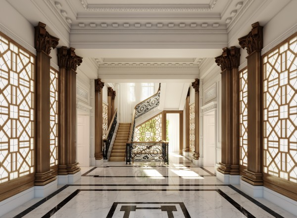 Buckingham Gate Entrance Lobby