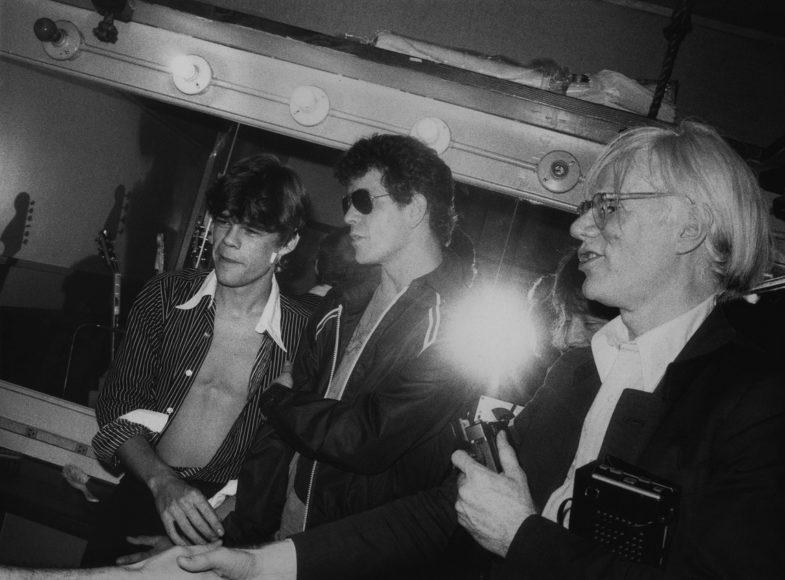Lou Reed Andy Warhol