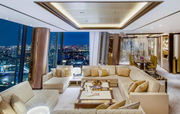 This image shows the Shangri-La Suite