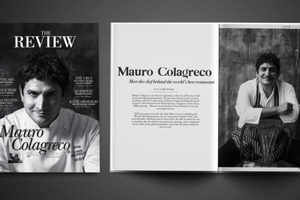 Mauro Colagreco - Cover