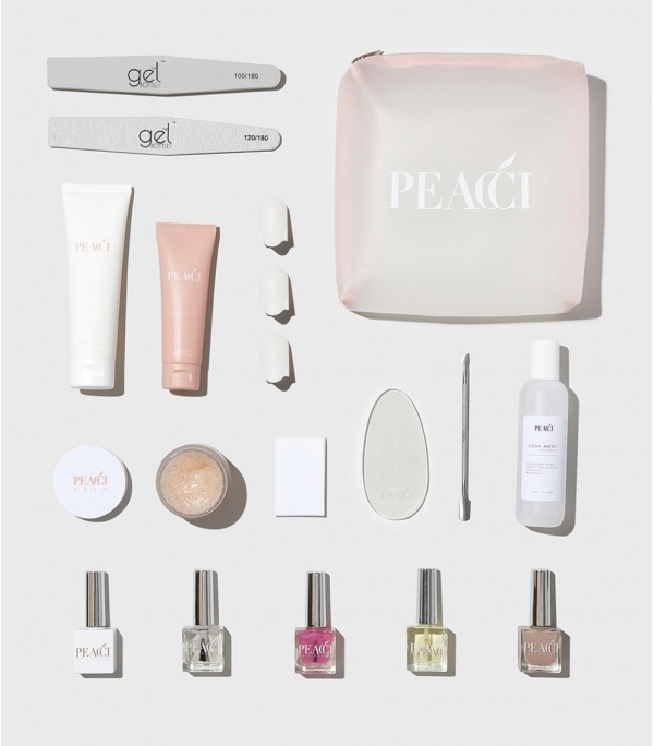 Peacci - Gel Removal & Nail Nutrition Kit