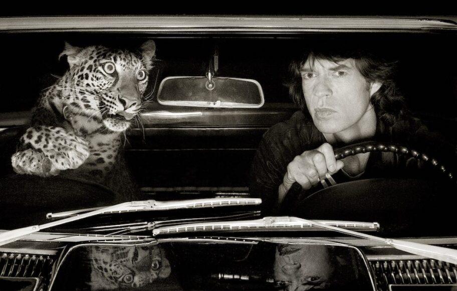 Mick_Jagger_Leopard_Car_LosAngeles_1992